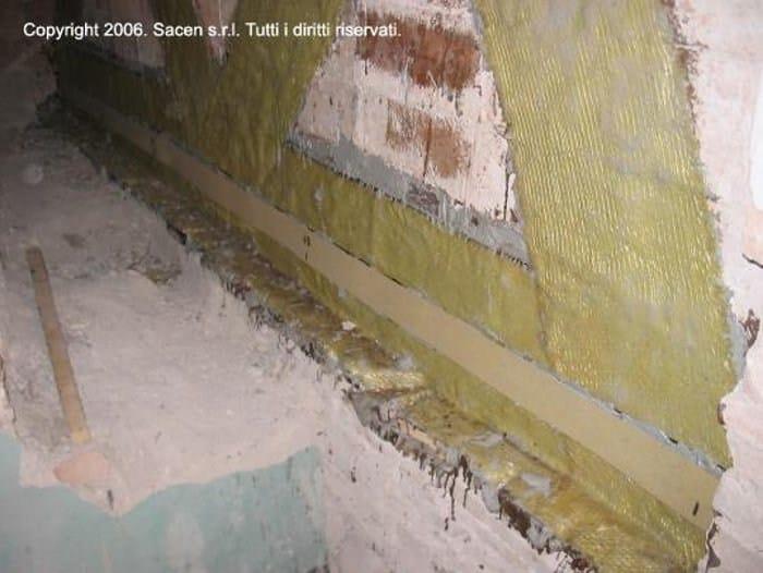 Aramid fibre FRP rebar FLAT-TEX K - SACEN