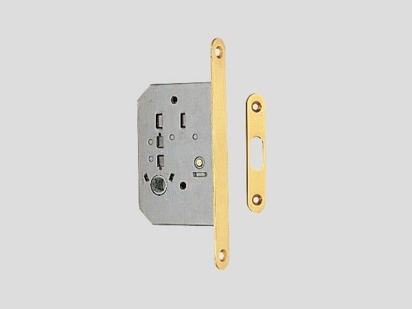 Brass lock for folding door Brass lock - Frascio
