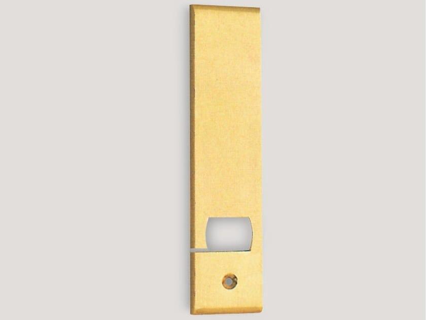 Rectangular brass backplate 776-260   Backplate - Frascio