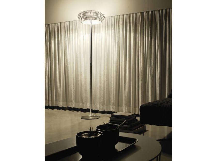 Glass floor lamp YUBA PT 45 - Vetreria Vistosi