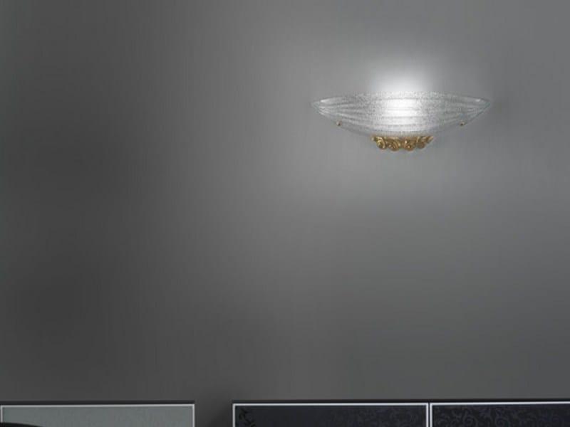 Glass wall light TORCELLO AP - Vetreria Vistosi