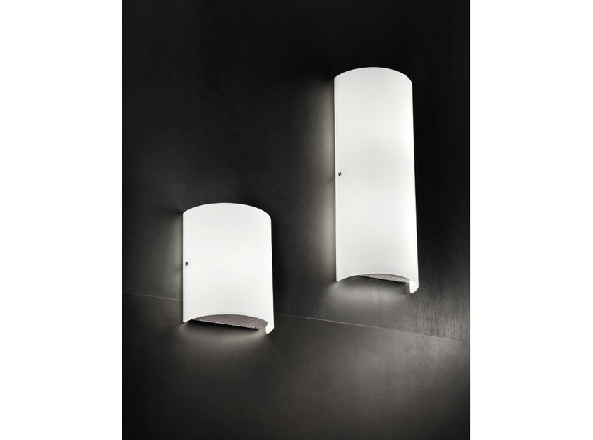 Glass wall light THOR AP - Vetreria Vistosi