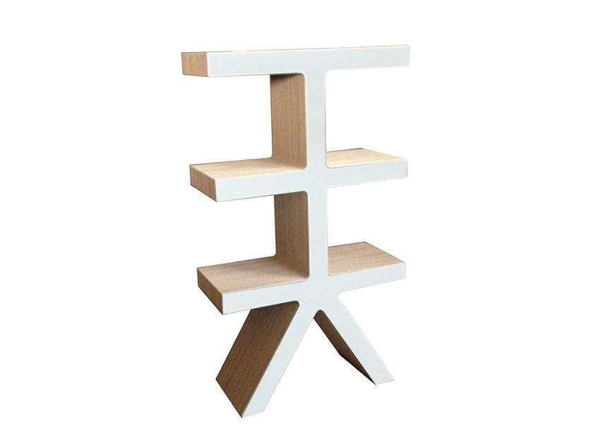 Freestanding kraft paper bookcase TREE - Staygreen