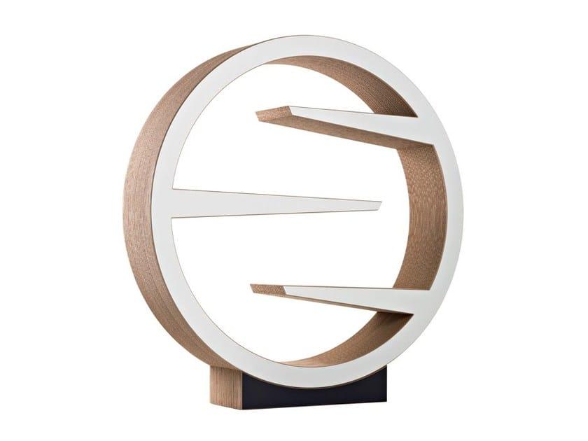 Freestanding kraft paper bookcase OMM - Staygreen