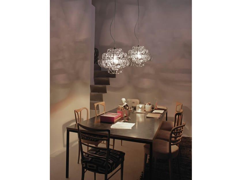 Crystal chandelier GIOGALI SP 35 - Vetreria Vistosi