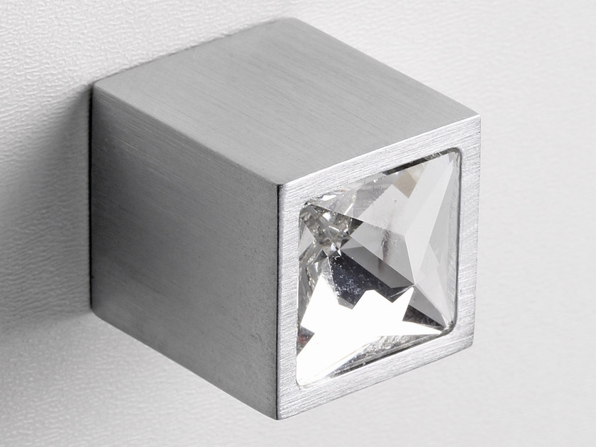 Furniture knob polished chrome SPARKLE SUITE | Furniture knob by Frascio