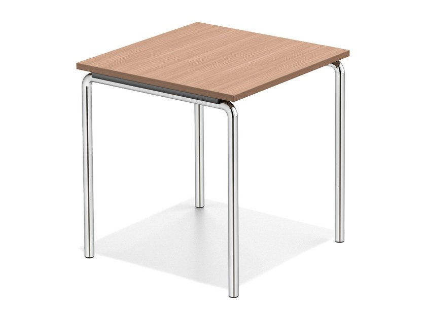 Wooden study table LACROSSE I | Wooden bench desk - Casala