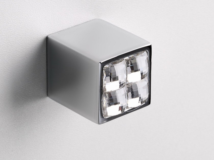 Furniture knob polished chrome SPARKLE SUITE | Furniture knob - Frascio