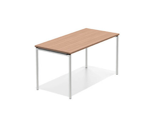 Rectangular wooden bench desk LACROSSE II | Bench desk - Casala