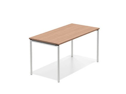 Rectangular wooden bench desk LACROSSE II | Bench desk by Casala
