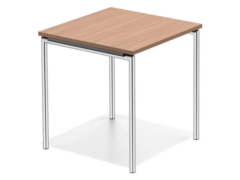 Square wooden bench desk LACROSSE II | Wooden bench desk - Casala