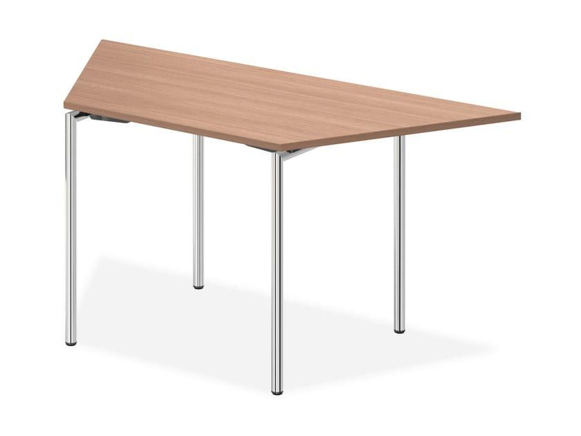 Modular wooden bench desk LACROSSE II | Modular bench desk - Casala