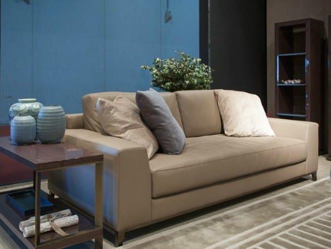 Leather sofa PARIS | Sofa by HUGUES CHEVALIER