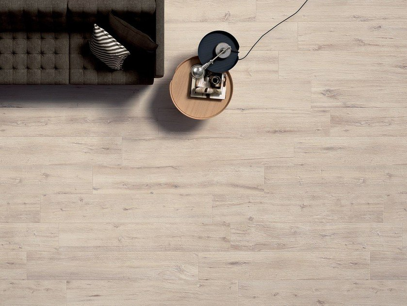 Porcelain stoneware flooring with wood effect NORTH CAPE by Panaria Ceramica