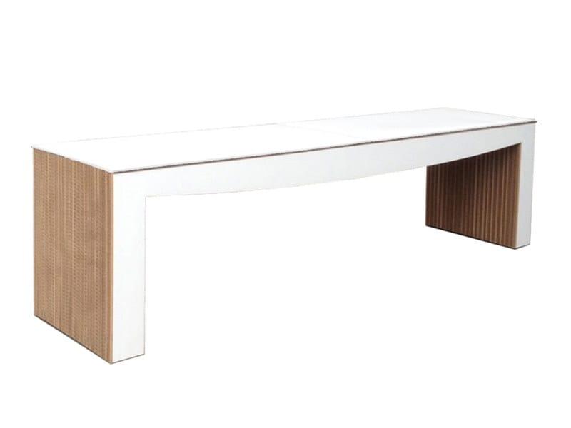 Kraft paper bench JULIET - Staygreen