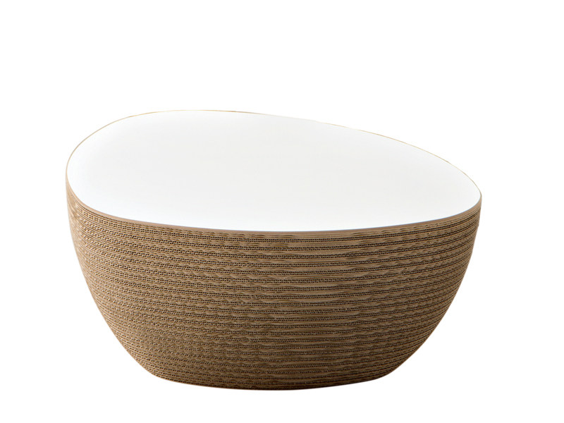 Kraft paper coffee table for living room STONE - Staygreen