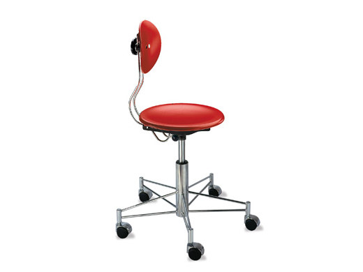 Height-adjustable chair SE 41 | Chair with casters - WILDE+SPIETH Designmöbel