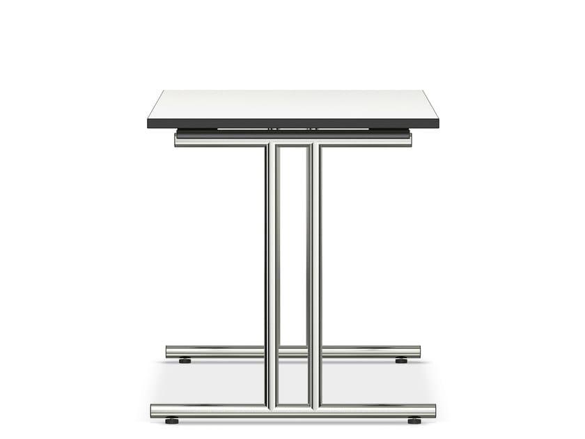 Rectangular MDF bench desk LACROSSE IV | MDF bench desk - Casala