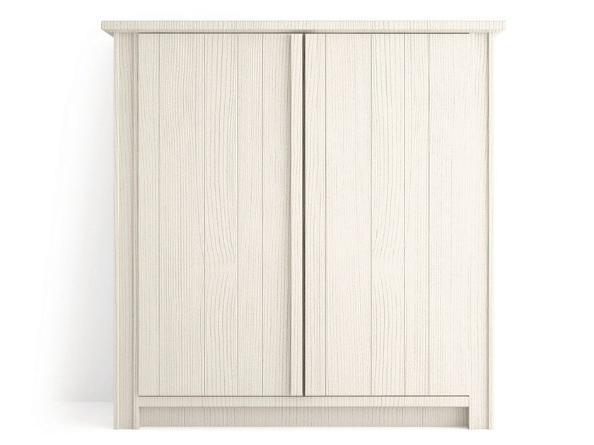 Wooden highboard with doors MAESTRALE | Highboard with doors - Scandola Mobili