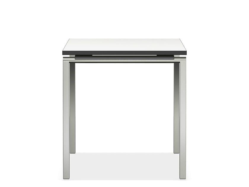 Square MDF bench desk LACROSSE V | MDF bench desk - Casala
