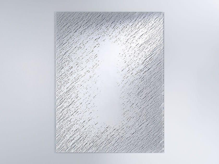 Rectangular wall-mounted mirror FILL - DEKNUDT MIRRORS