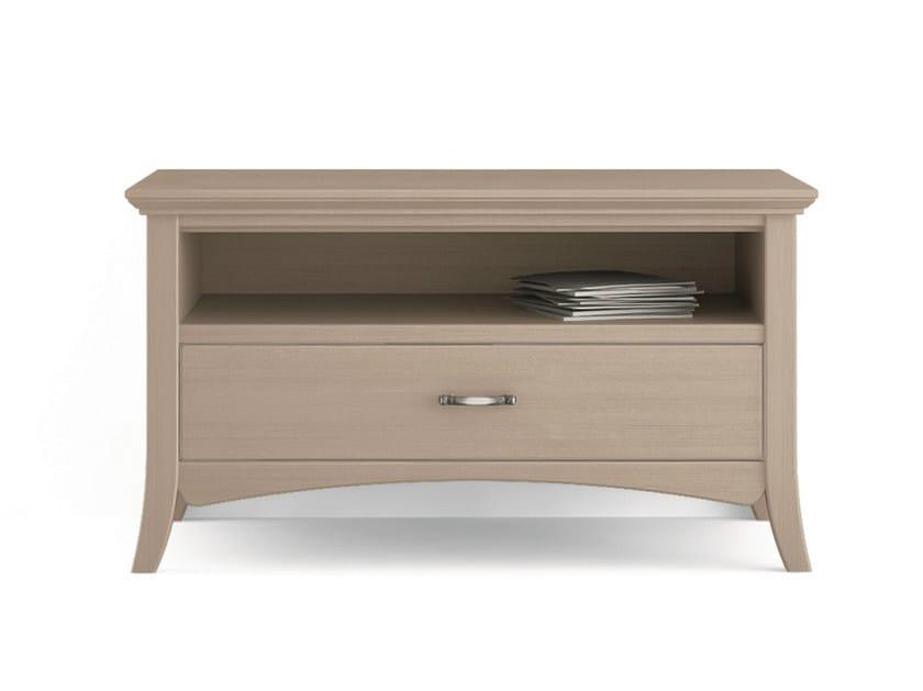 Wooden TV cabinet ARCANDA | TV cabinet - Scandola Mobili