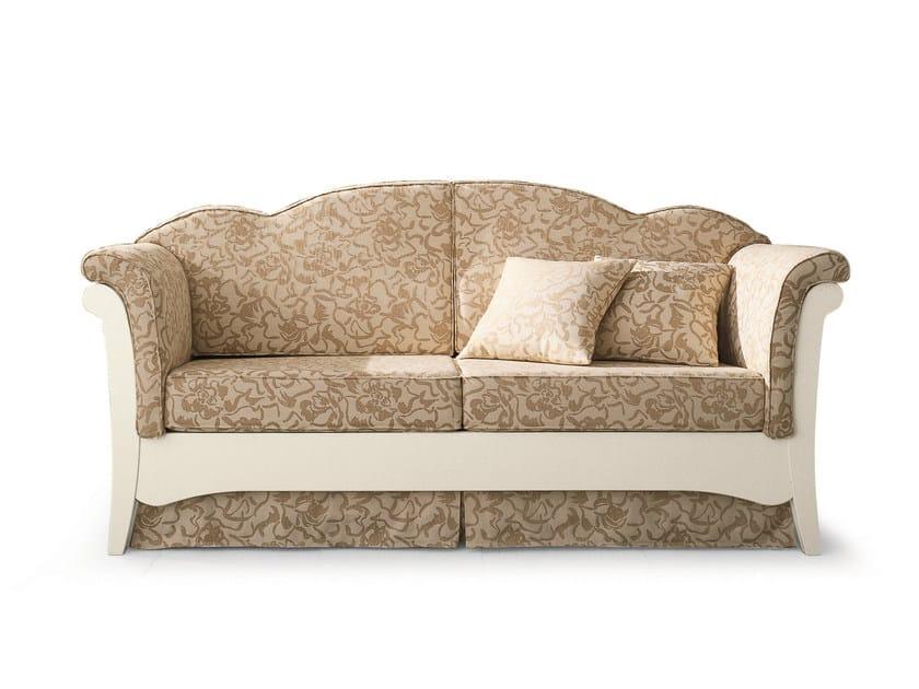 2 seater fabric sofa bed Sofa bed - Scandola Mobili