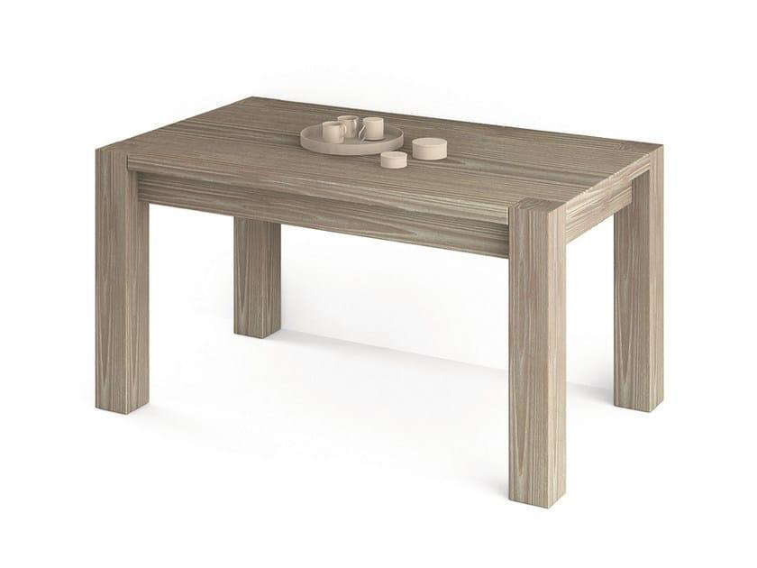 Tavolo rettangolare in legno tavolo scandola mobili - Ristrutturare tavolo in legno ...