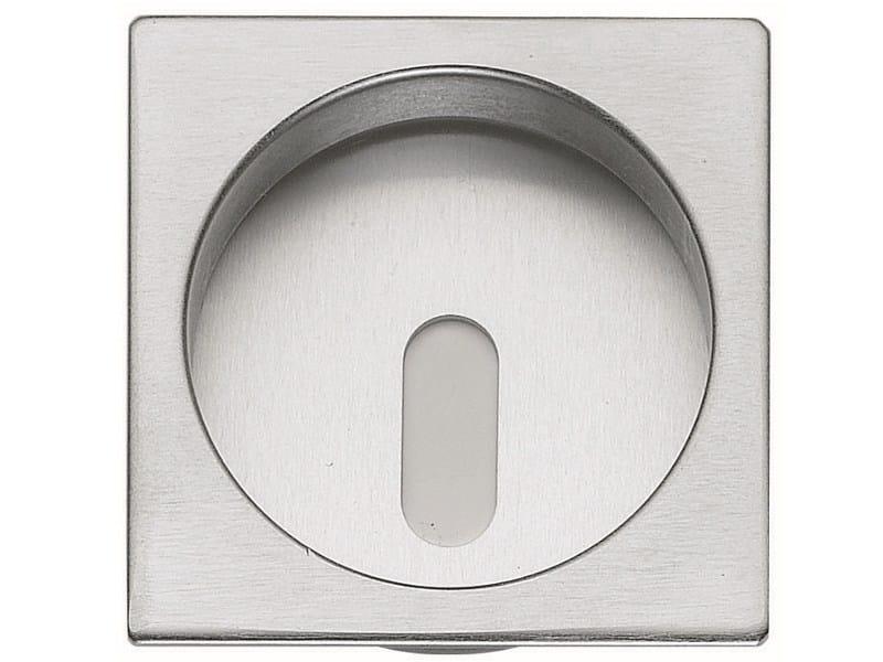 Recessed brass door handle KIT R - Frascio