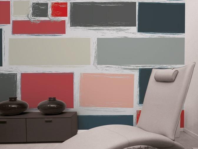 Motif vinyl wallpaper BRIKS by GLAMORA