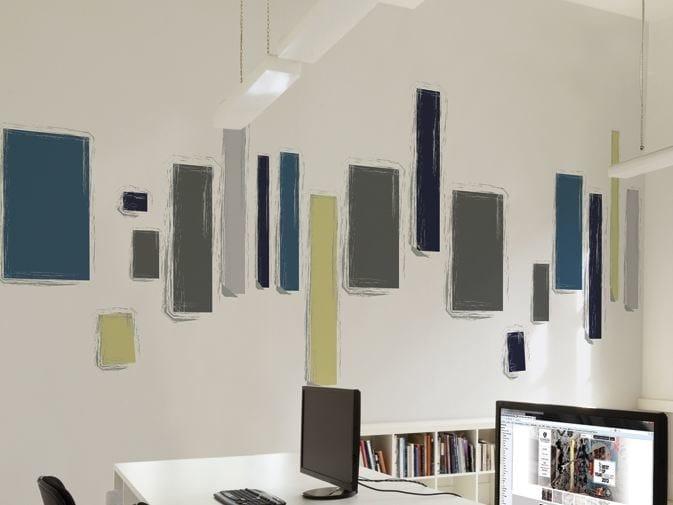 Carta da parati a motivi in vinile skyline by glamora for Andrea castrignano colori pareti
