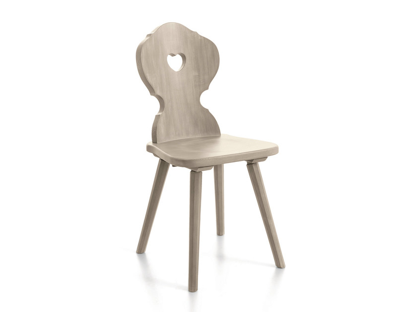 Wooden chair CORTINA | Wooden chair by Scandola Mobili