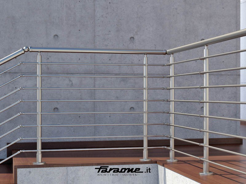 Parapetto in alluminio per finestre e balconi penta faraone - Parapetto finestra ...