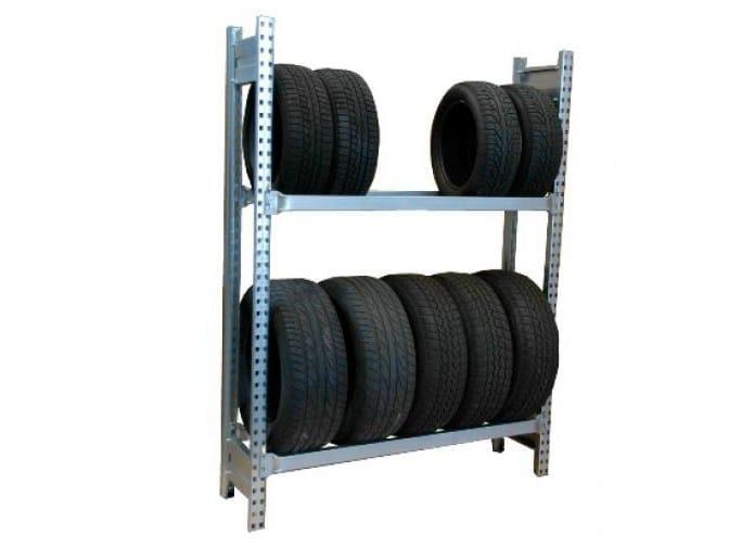 Metal shelveing system Shelveing system - Castellani.it