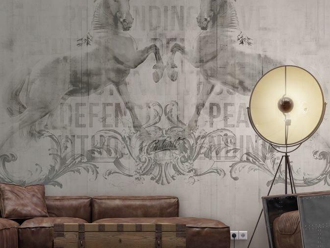 Writing vinyl wallpaper NEXT UTOPIA by GLAMORA