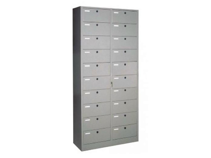 Modular plate office storage unit with lock 620/AR | Office storage unit - Castellani.it