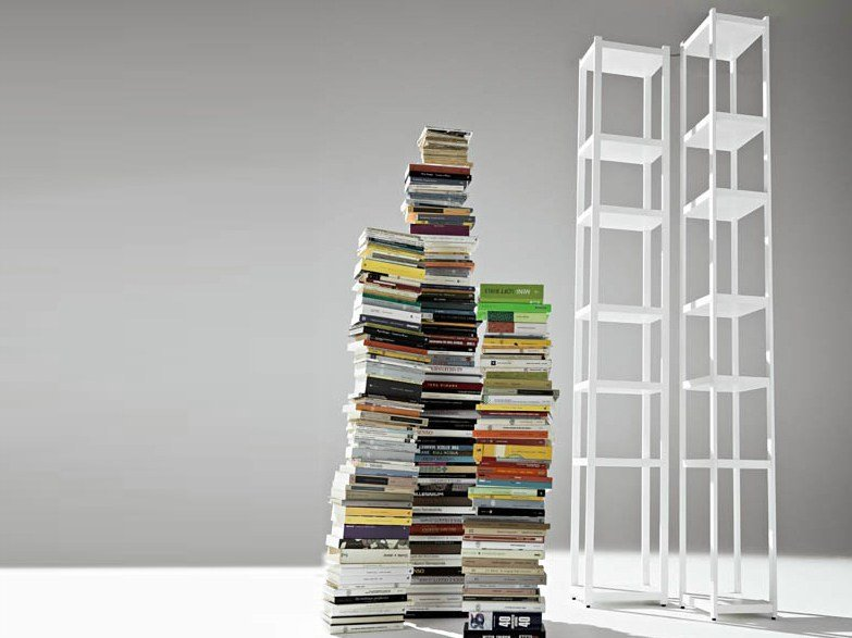 Sectional bookcase SINGLES - HORM.IT