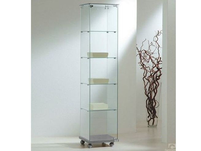 Retail display case with casters VE40180 | Retail display case - Castellani.it