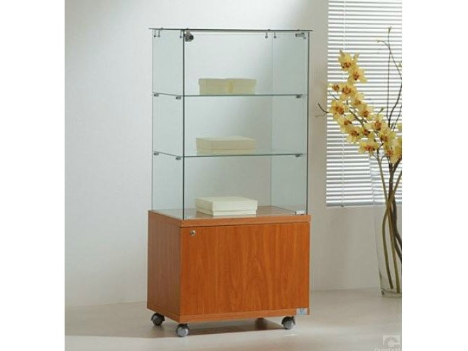 Retail display case with casters VE60130M | Retail display case - Castellani.it