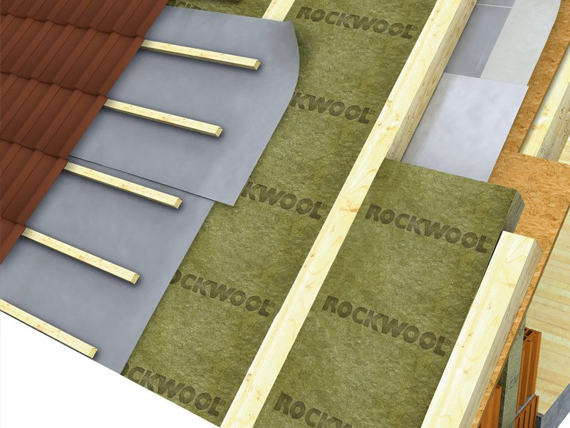Thermal insulation panel FITROCK ENERGY PLUS -234 by ROCKWOOL ITALIA