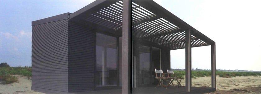 Casa in legno precostruita le verandine legnolandia - Case trasportabili ...