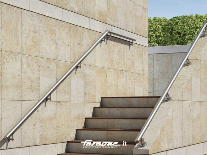 Corrimano in alluminio alu pass collezione balaustre in - Impermeabilizzazione scale esterne ...