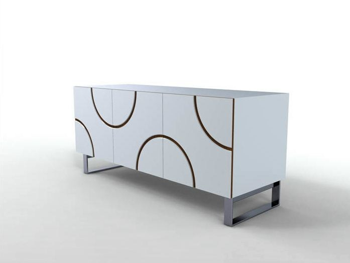 Lacquered sideboard INFINITY | Sideboard by horm