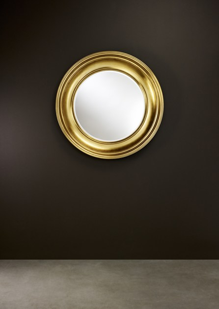 Classic style framed round mirror CLARA | Classic style mirror - DEKNUDT MIRRORS