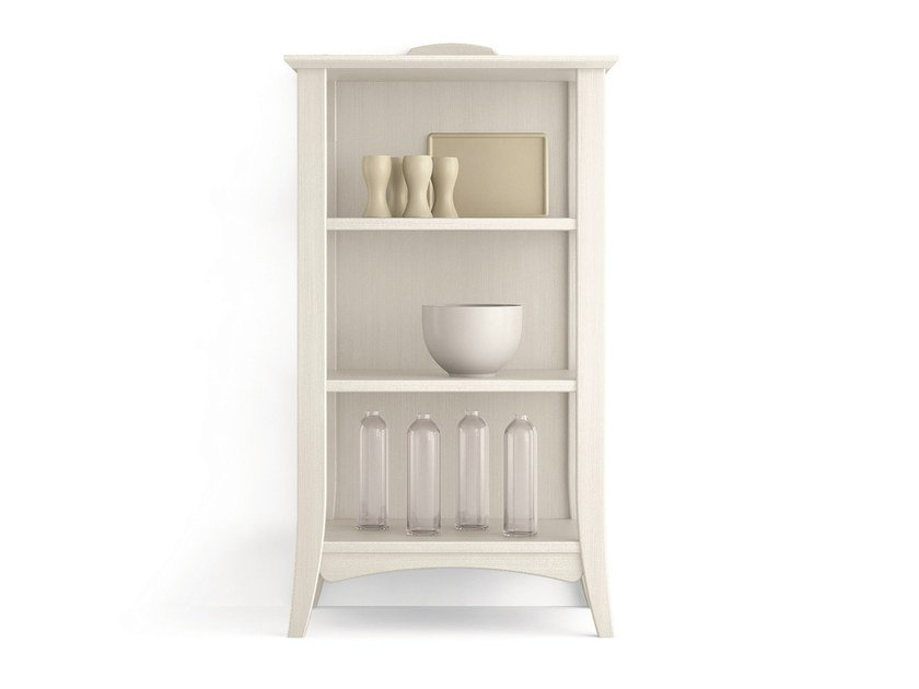 Open wooden bookcase ARCANDA | Bookcase - Scandola Mobili