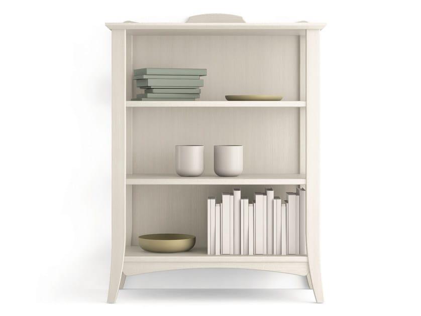 Open wooden bookcase ARCANDA | Open bookcase - Scandola Mobili