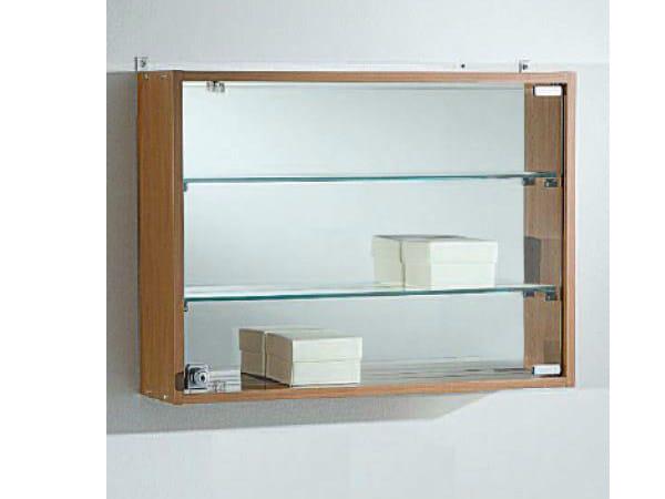 Wall-mounted retail display case VE60/45BA | Retail display case by Castellani.it