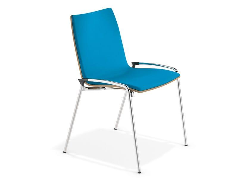 Fabric training chair LYNX II | Fabric chair - Casala