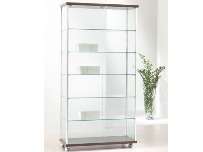 Retail display case with casters VE93/A | Retail display case - Castellani.it