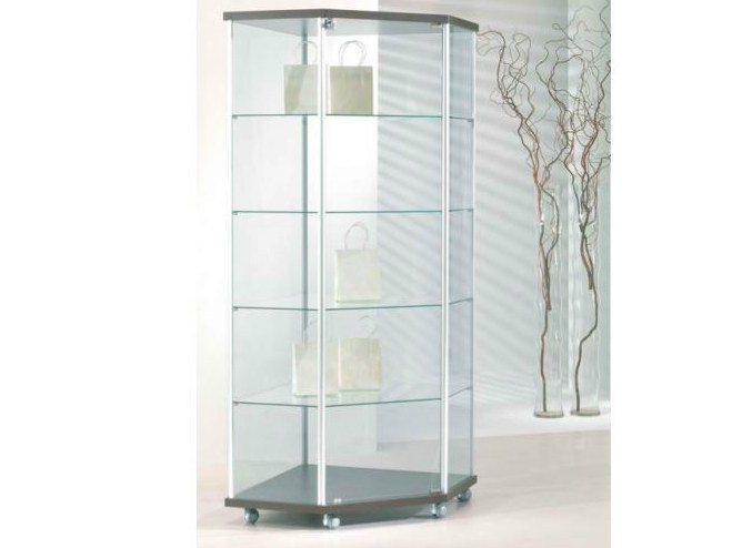 Retail display case with casters VE70/A | Retail display case - Castellani.it